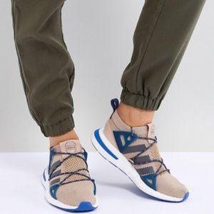 ADIDAS Women's Arkyn Shoes Blue Beige